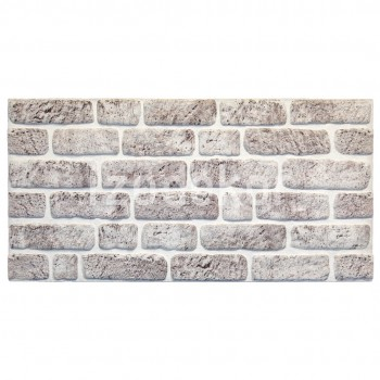 White Grey L-1702 3d Decorative Wall Covering